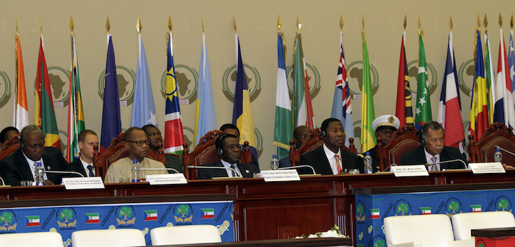 Photo: 7th Summit of ACP Heads of State and Government in Malabo, Equatorial Guinea in 2012. Credit: ACP Press.