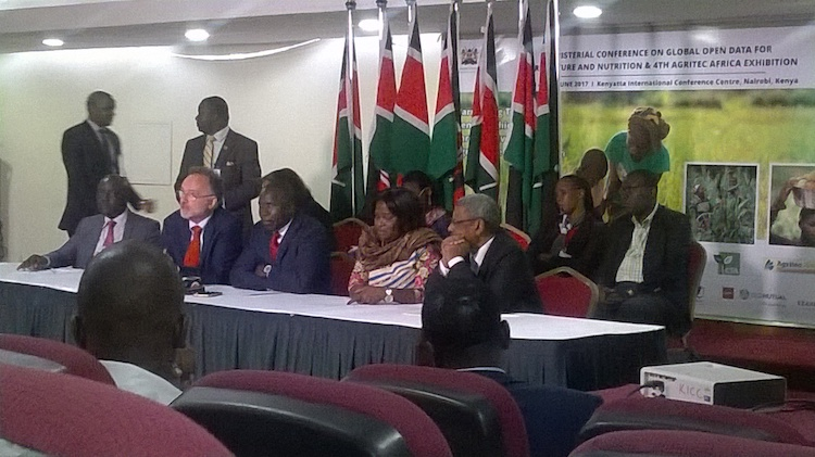 African ministers call for using and sharing agriculture data to boost food production and contribute to making Africa food secure. Credit: Justus Wanjala | IDN-INPS